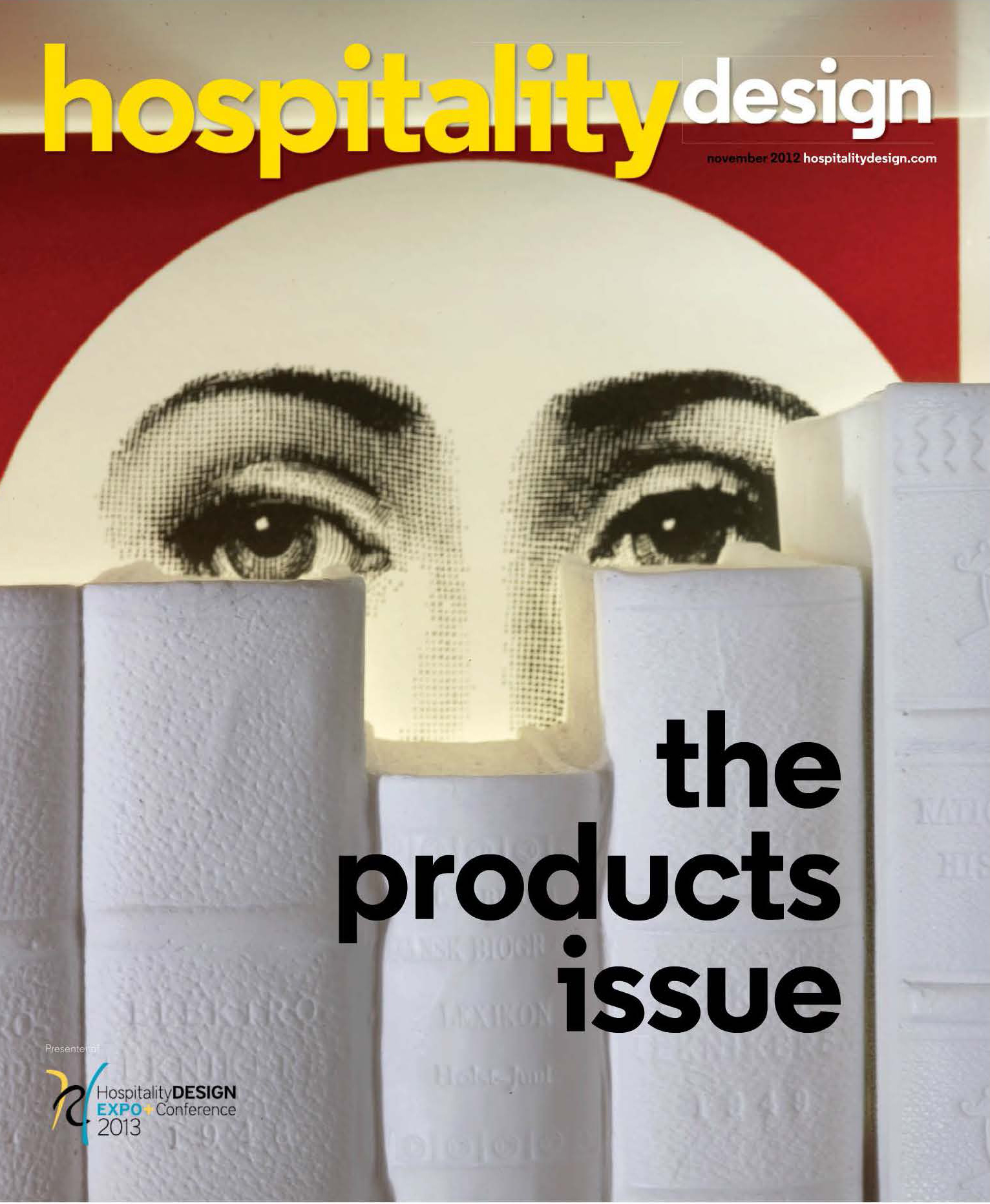 Hospitality Design Product Issue November 2012 Cover