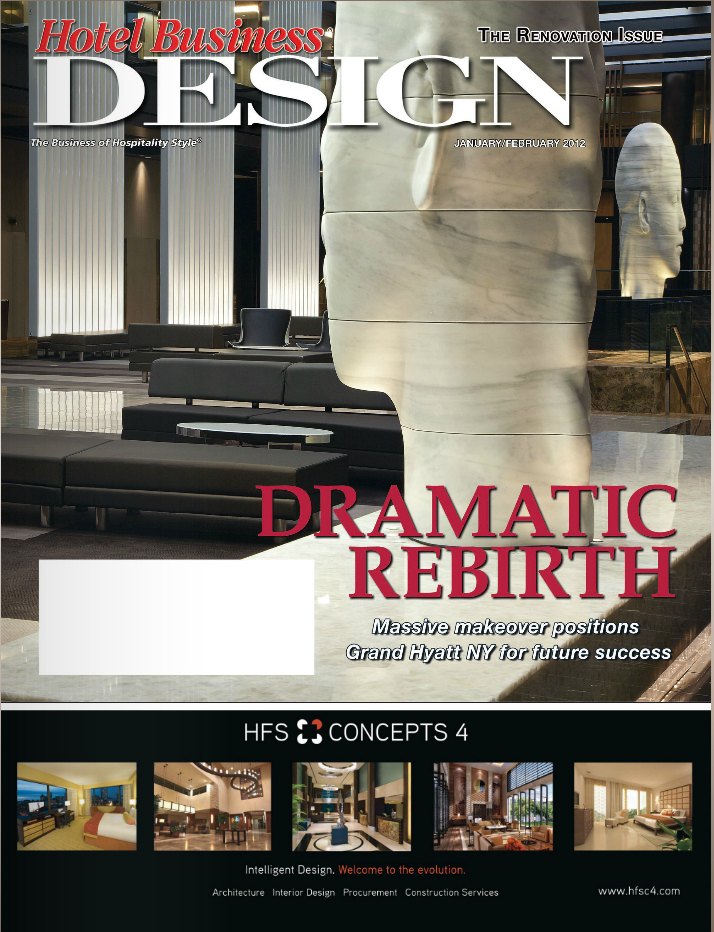 Hotel Business Design Modern Opulence January 2012 Cover