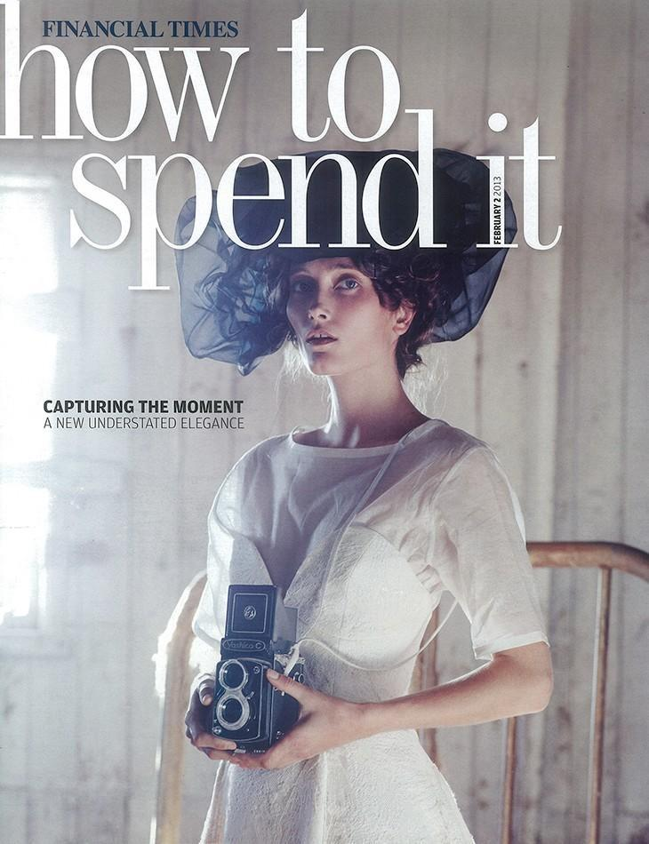 How To Spend It The Aesthete Febtruary 2013 Cover