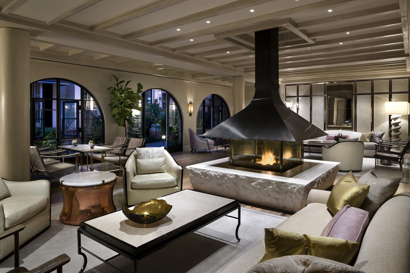 3 Hotel Bel Air Lobby Lounge - Michael Weber